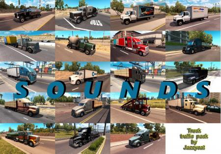 SOUNDS FOR ATS TRUCK TRAFFIC PACK BY JAZZYCAT V1.9.1