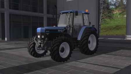 NEW HOLLAND 8340 WITH DH AND LICENSE PLATES V1.0