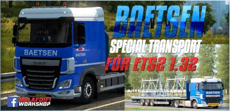 SKIN BAETSEN GROUPE FOR ETS2 1.32