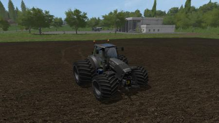 DEUTZ FAHR 7250 THE BEAST BLACK V1.0