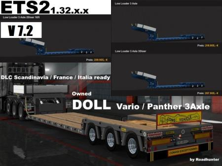 DOLL 3 AXLE OWNED TRAILER IN PROPERTY V7.2