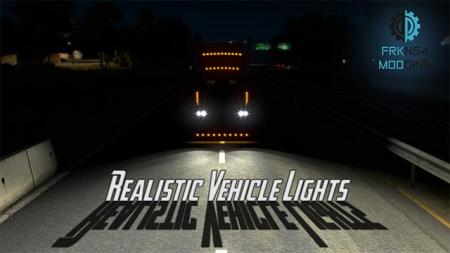 [ATS] REALISTIC VEHICLE LIGHTS FOR ATS V3.1