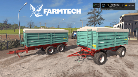[FBM Team] Farmtech Trailer Set DH