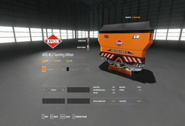 KUHN AXIS 40.2 GAMLING EDITION V1.0.0.4