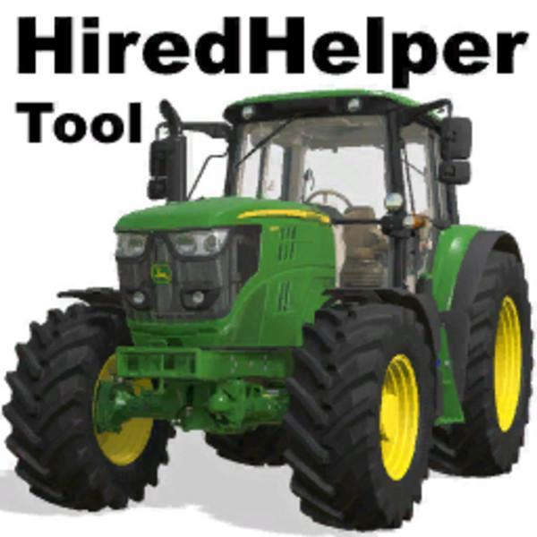HIREDHELPERTOOL V0 51 BETA » GamesMods net - FS19, FS17, ETS 2 mods