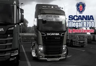 SCANIA R700 ILLEGAL V1.33.2 REWORKED