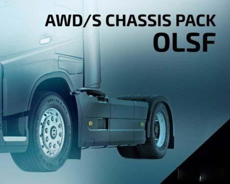 OLSF AWD/S CHASSIS PACK 6 1.33.X