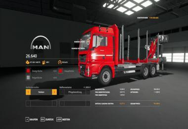 FORST LKW MAN MP V1.2.7