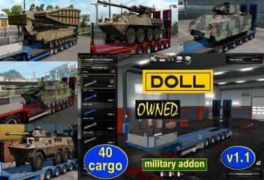 MILITARY ADDON FOR OWNABLE TRAILER DOLL PANTHER V1.1