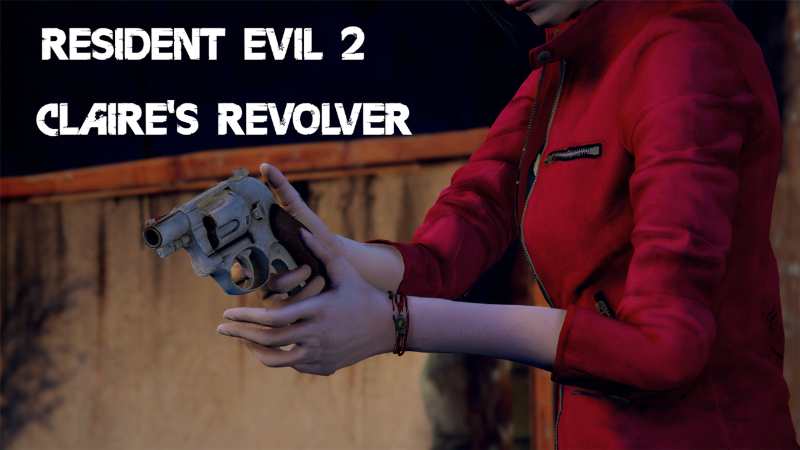 Claire S Revolver From Resident Evil 2 Gamesmods Net Fs19