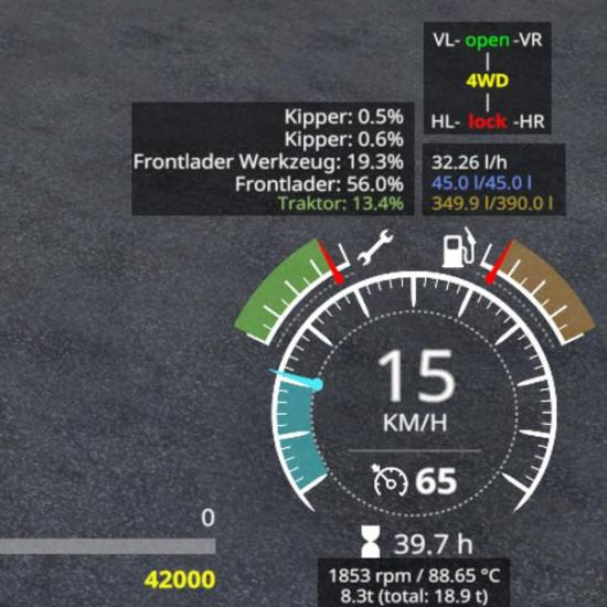ENHANCEDVEHICLE V1 3 1 1 » GamesMods net - FS19, FS17, ETS 2