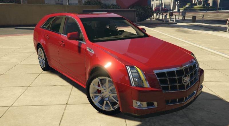 Cadillac CTS Sport Wagon (2010) Addon | FiveM 1 0 » GamesMods net