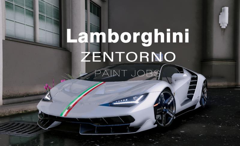 Paintjob for Lamborghini Centenario LP770-4 » GamesMods net