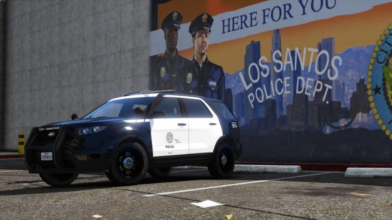 Vapid Police Cruiser Utility Emergency Pack (SA) Add-On 1 0