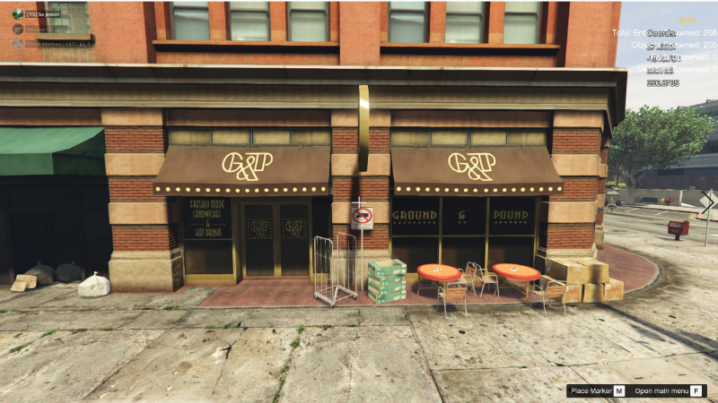 cafe in mission row (xml) Menyoo 1 0 » GamesMods net - FS19