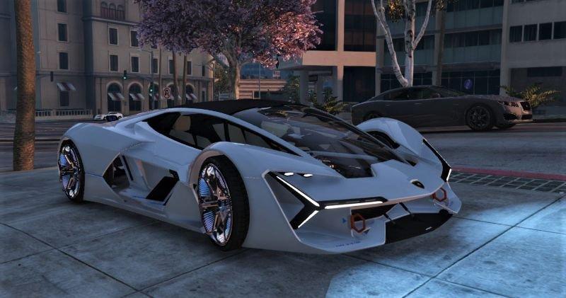 Lamborghini Terzo Millennio (2017) Addon   FiveM 1 0