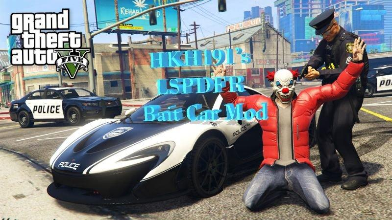 LSPDFR Bait Car 0 9 (Beta Release) » GamesMods net - FS19