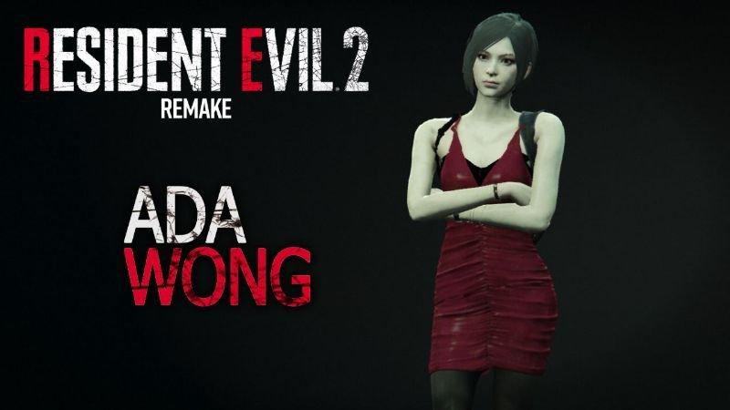 Resident Evil 2 Remake - Ada Wong Addon-Ped 1 0 » GamesMods net