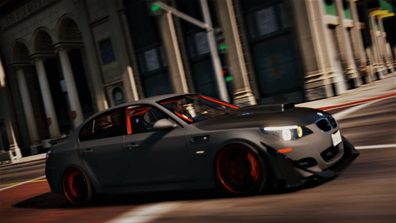 BMW M5 E60 Crazy exterior Add-On | Tuning 1 0 » GamesMods net - FS19