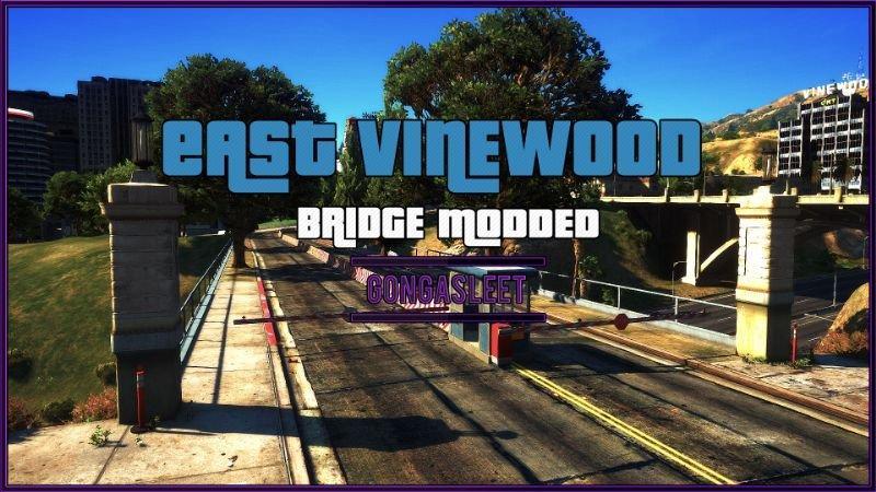 East Vinewood - Bridge Modded FiveM | SP Menyoo YMAP | XML v1 0