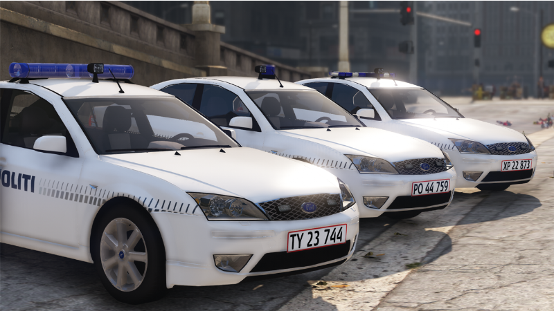 2003 Ford Mondeo - Danish Police - Mini Pack REPLACE/OIV » GamesMods