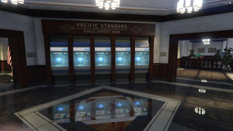 New Pacific Bank Interior SP   FiveM 1 0 » GamesMods net