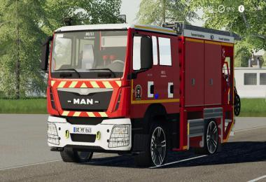 IVECO DAILY (KALTENKIRCHEN FIRE DEPARTMENT) V2 0 » GamesMods