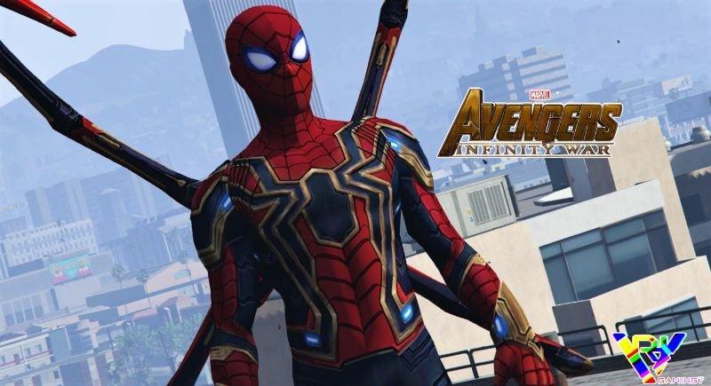 Spider-Man | Iron Spider (Infinity War) Add-On Ped 1 0 » GamesMods