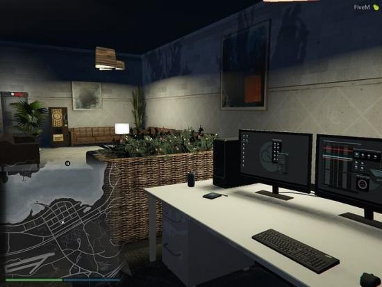 Police Station & Hospital - Sandy Shores FiveM | SP Menyoo YMAP