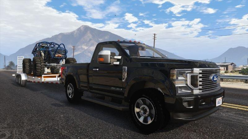 2020 ford f250 super duty addon fivem friendly 10