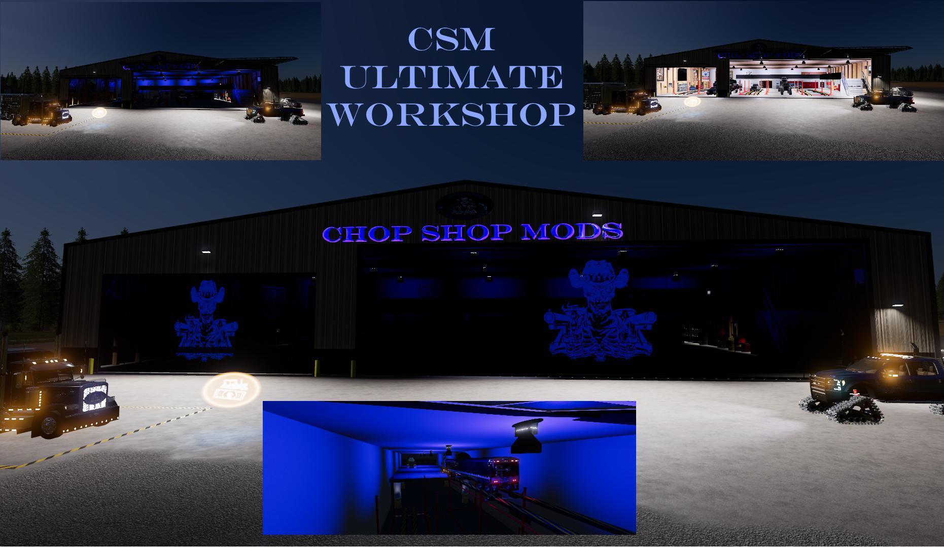 CHOP SHOP MODS CSM ULTIMATE WORKSHOP V1 0 10 » GamesMods net - FS19