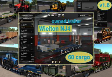 OWNABLE OVERWEIGHT TRAILER WIELTON NJ4 V1.6
