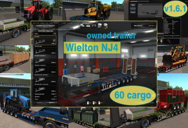 OWNABLE OVERWEIGHT TRAILER WIELTON NJ4 V1.6.1