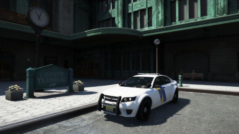 Alderney State Police Pack Addon 1 0 » GamesMods net - FS19