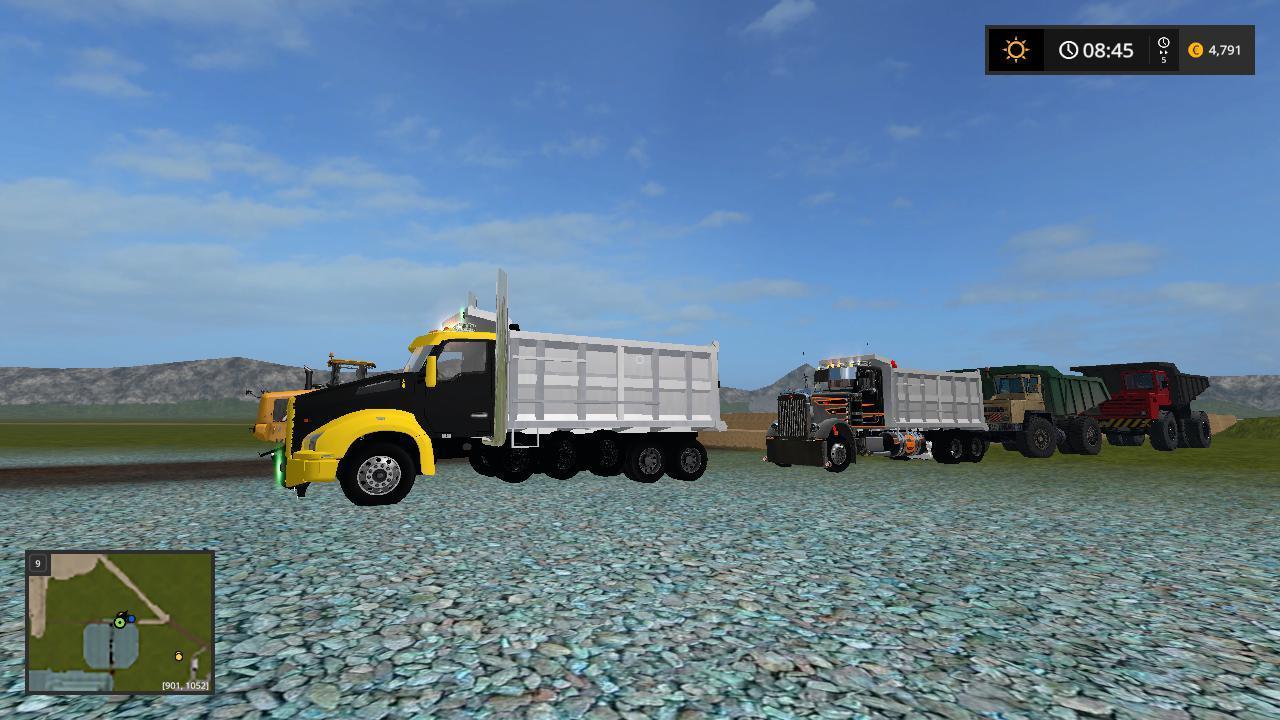 KENWORTH T880 DUMP TRUCK V1.0.0.3 » GamesMods.net - FS19 ...Kenworth Dump Trucks Fs19