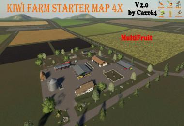 KIWI FARM STARTER MAP 4X MULTI FRUIT V2.0