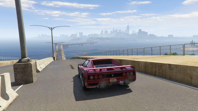Moses Pass Bridge from LS to Liberty City Menyoo 1 0