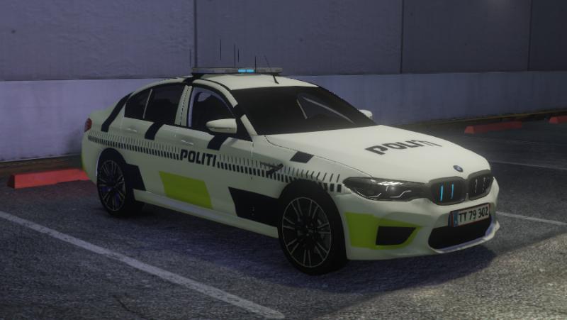 Danish Police - BMW M5 PAINTJOB ELS ADD-ON FiveM 1 » GamesMods net