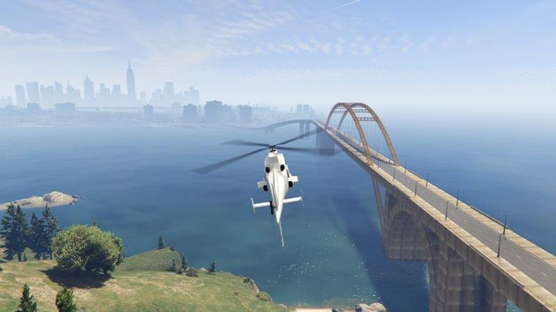 Lassard Bridge from LS to Liberty City Menyoo 1 0 » GamesMods net