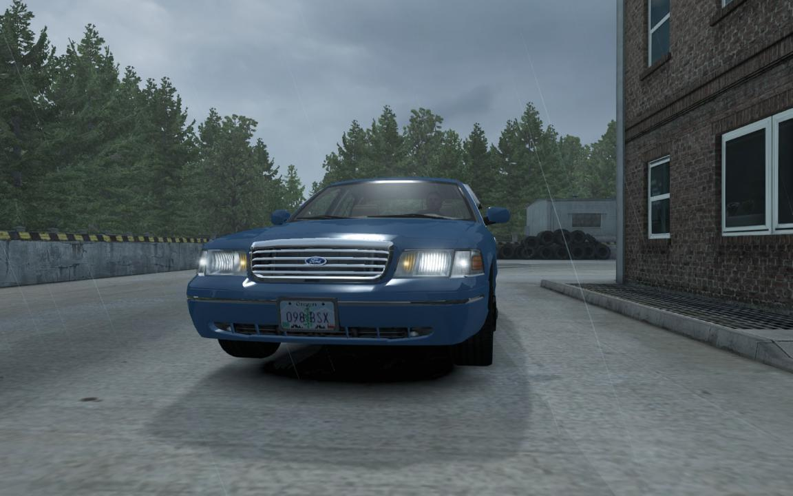 FORD CROWN VICTORIA ATS 1 33+ » GamesMods net - FS19, FS17