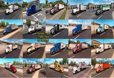 PAINTED TRUCK TRAFFIC PACK BY JAZZYCAT V1.6