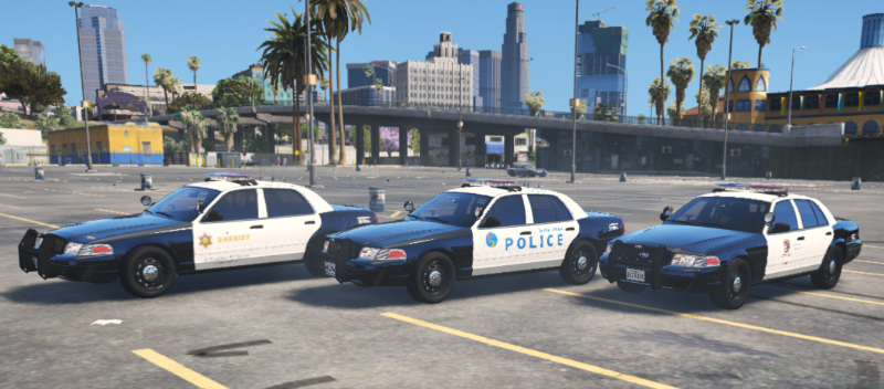 LA county police and sheriff liveries for CVPI » GamesMods