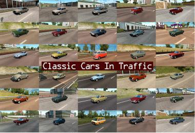 CLASSIC CARS TRAFFIC PACK BY TRAFFICMANIAC V2.8