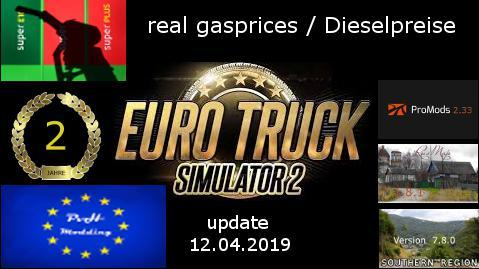 REAL GASPRICES/DIESELPREISE UPDATE 12.04 V4.6