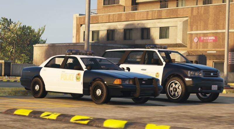 Los Santos County Police Pack Add-on 1 1 » GamesMods net