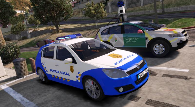ELS 2004 Opel Astra H CDTI Hatchback Policia Local Canaria