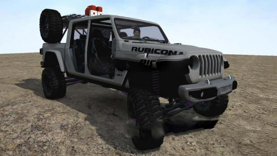 2020 Jeep Gladiator v1.0 » GamesMods.net - FS19, FS17, ETS ...