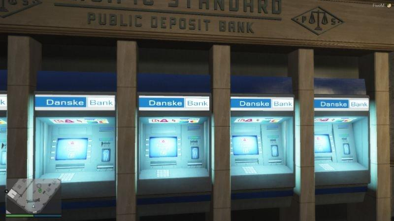 Danske bank - Danish bank Map Texture replace (Install for