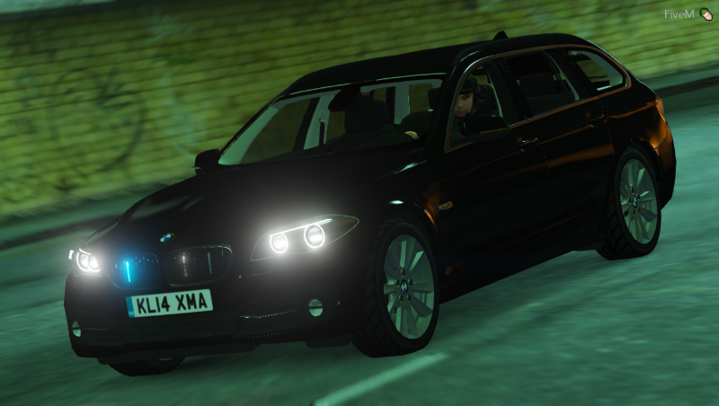 BMW 530D F11 UNMARKED | ELS FINAL » GamesMods net - FS19