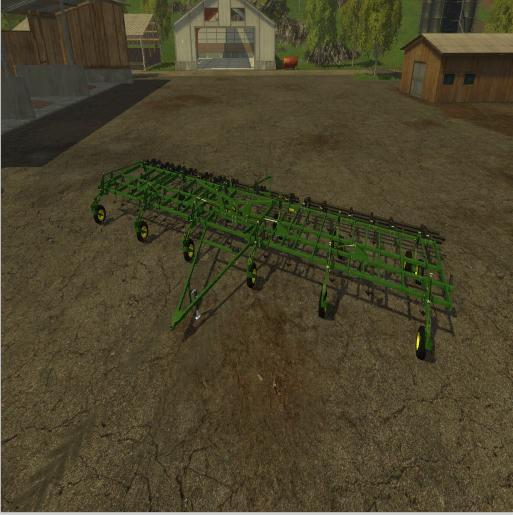 JOHN DEERE 3 SECTION CULTIVATOR V1.0